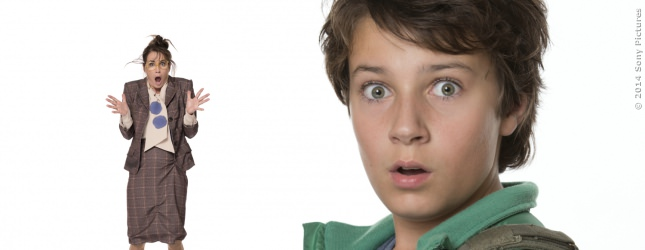Felix hat da ein Problem - er hat mehr oder weniger aus Versehen seine Lehrerin auf 15 Zentimeter eingedampft.