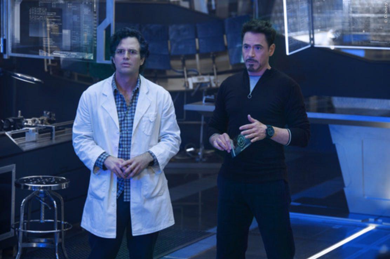 Der unverwandelte Hulk und der nicht-kampfbereite Iron Man hecken was aus