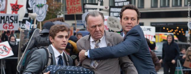 Mike Pancake (Dave Franco), Timothy (Tom Wilkinson) und Dan Millman (Vince Vaughn).