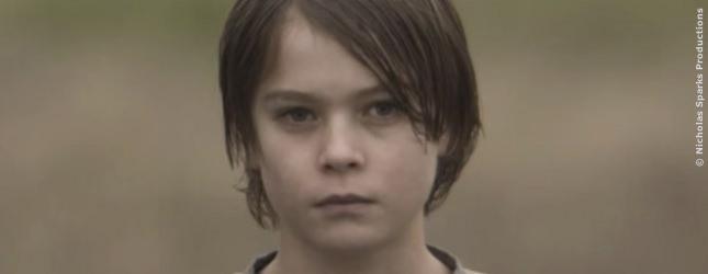 Judah Lewis hatte sein Filmdebüt 2014 in Nicholas Sparks Film Deliverance Creek!