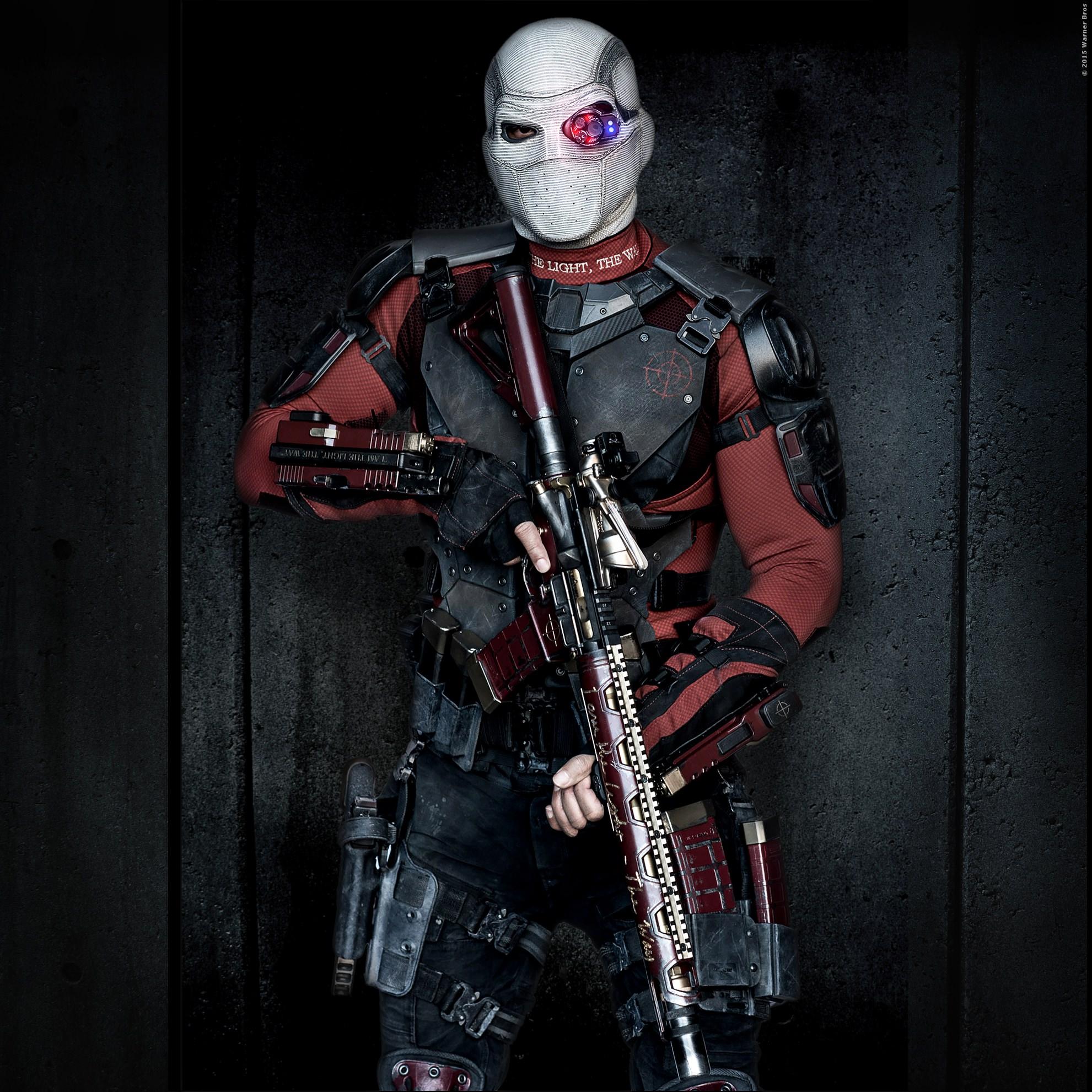 Schwer zu erkennen: WILL SMITH as Deadshot.