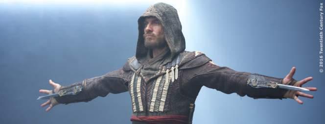 Michael Fassbender als Aguilar in Assassins Creed