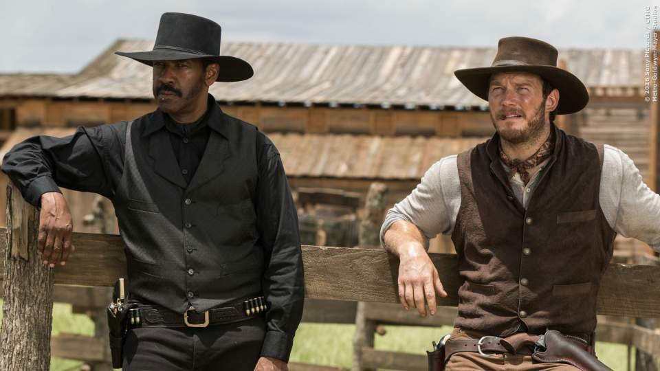 Ein weiterer Kultstreifen findet seinen Weg zurück ins Kino: Die Glorreichen Sieben! Wild-West-Action mit Denzel Washington und Chris Pratt. Kinostart: 22. September 2016