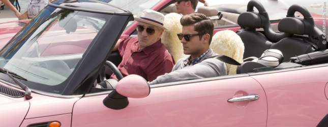 Filmszene aus Dirty Grandpa mit Zac Efron und Robert De Niro