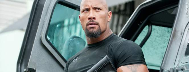 Dwayne Johnson als Hobbs in Fast And Furious