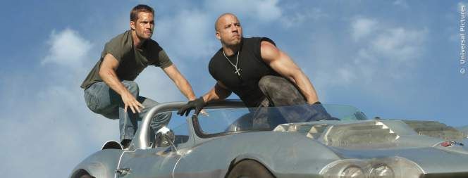 Paul Walker und Vin Diesel in Fast And Furious