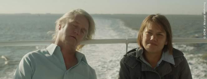 Papa (Detlev Buck) und Vivian Baumann (Britta Hammelstein)