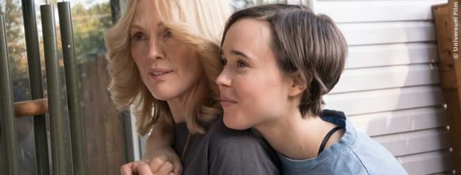 Laurel (Julianne Moore) und Stacie (Ellen Page) sind ein Paar.