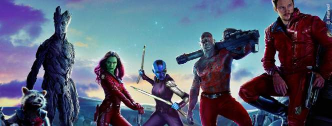Die Helden aus Guardians Of The Galaxy