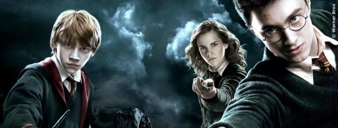 Ron, Hermine und Harry - Die drei aus den Harry-Potter-Geschichten