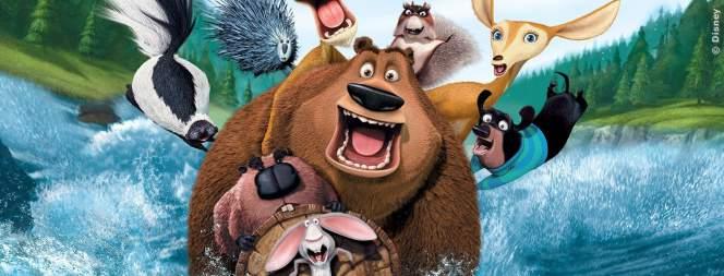 Coole Waldviecher machen einen drauf. Gleich 3x im Disney Channel.