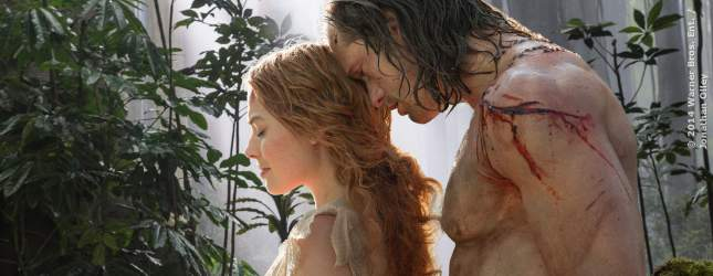 Jane (Margot Robbie) und Tarzan (Alexander Skarsgard)