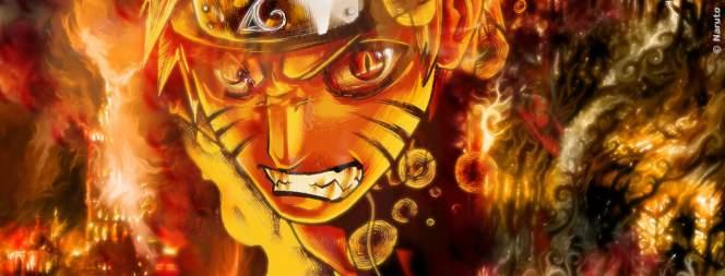 Naruto kann sich verwandeln und auch richtig sauer werden.