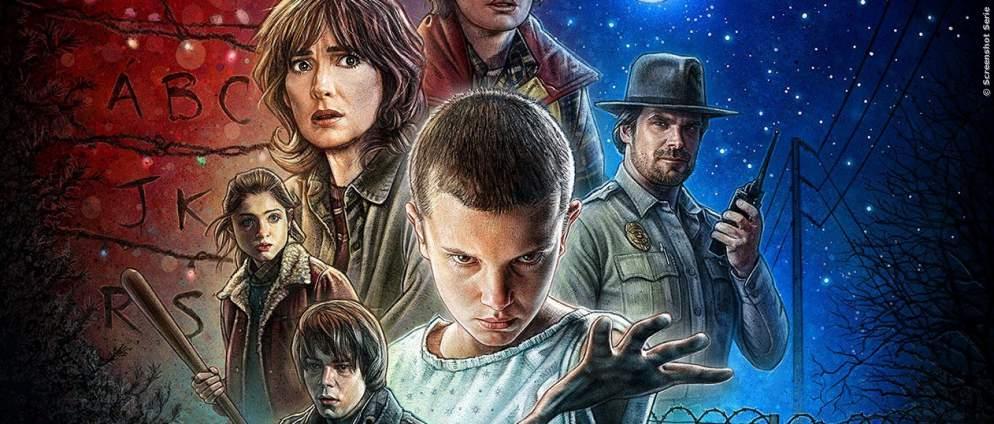 Quiz: Erkenne die Netflix-Serie am Bild
