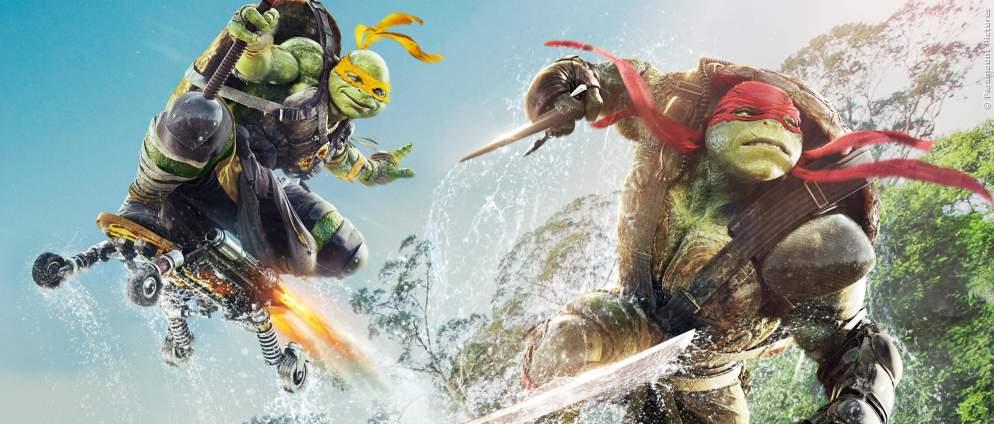 Netflix macht Ninja Turtles-Film mit Nickelodeon