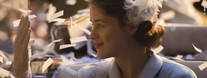 Claire Foy (Königin Elizabeth II) in der Netflix Serie The Crown