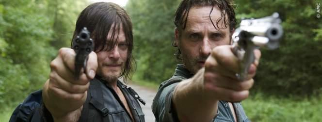 Daryl und Rick - beide haben die erste Folge der siebten TWD Staffel überlebt