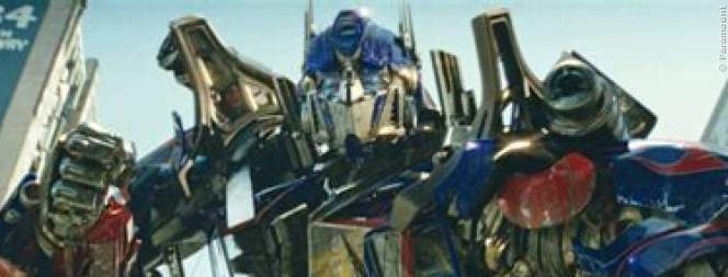 Optimus Prime und die Dinobots in Transformers 4