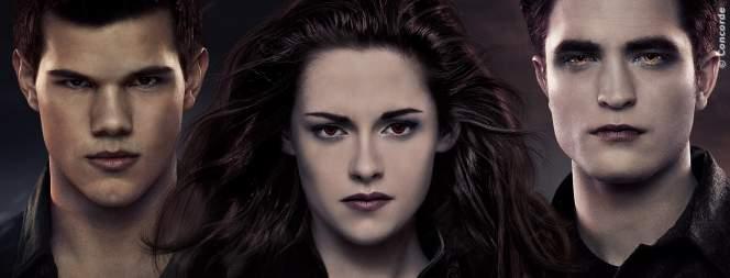 Taylor Lautner, Kristen Stewart und Robert Pattinson aus Twilight
