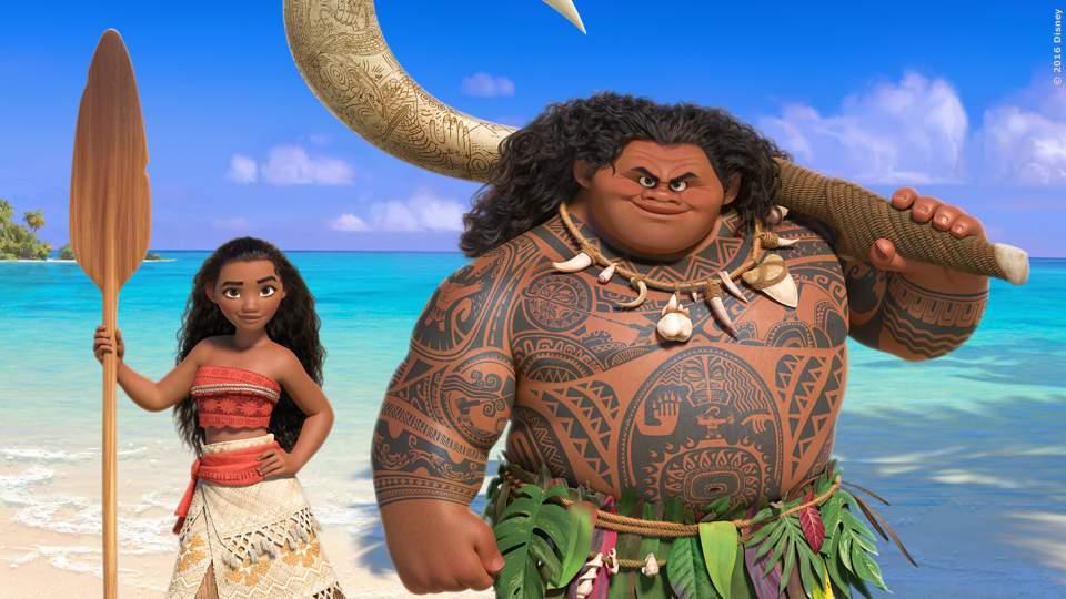 Paradiesisches Flair und Dwayne Johnson als animierter Halbgott. Das ist die Welt im Disney-Animationsfilm Vaiana. Kinostart: 22. Dezember 2016