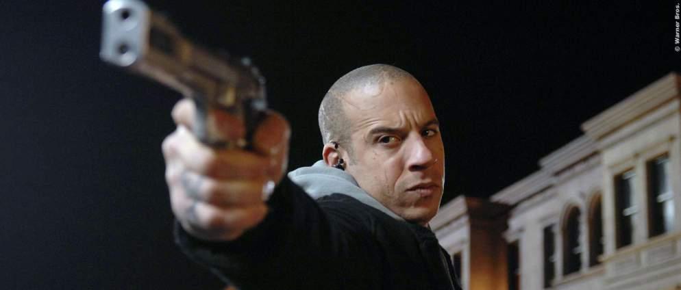 Vin Diesel als Kampfmaschine ala Terminator