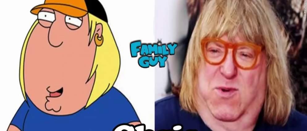 Family Guy-Figuren im echten Leben