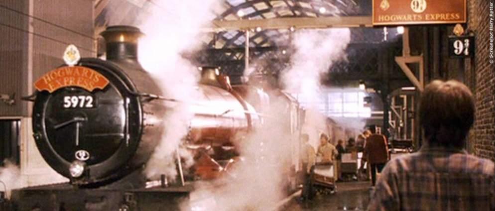 Hogwarts-Express rettet Familie in Schottland