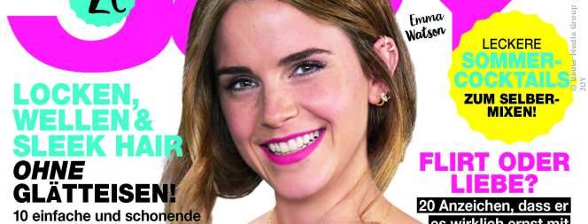 Emma Watson auf dem Cover der neuen JOY