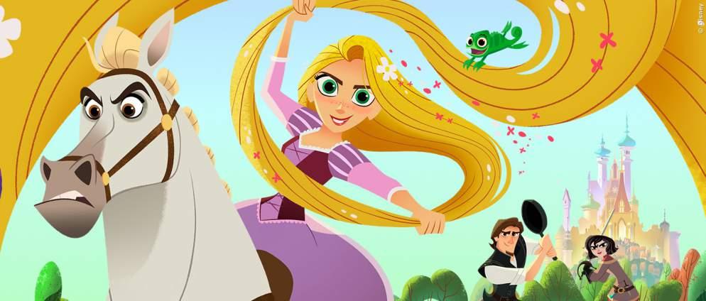 Rapunzel Serie: Die ersten 5 Minuten hier sehen