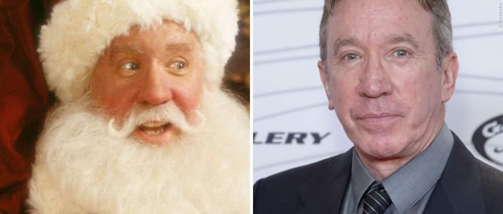 Santa Claus: Die Stars früher und heute