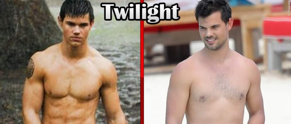 Die Twilight Stars früher und heute
