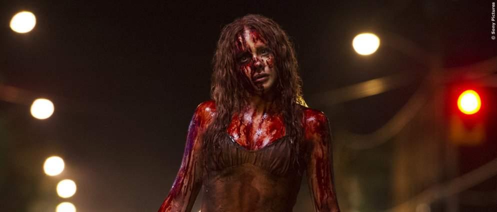 Gute Filme: Gruselige Horrorfilm-Mädchen