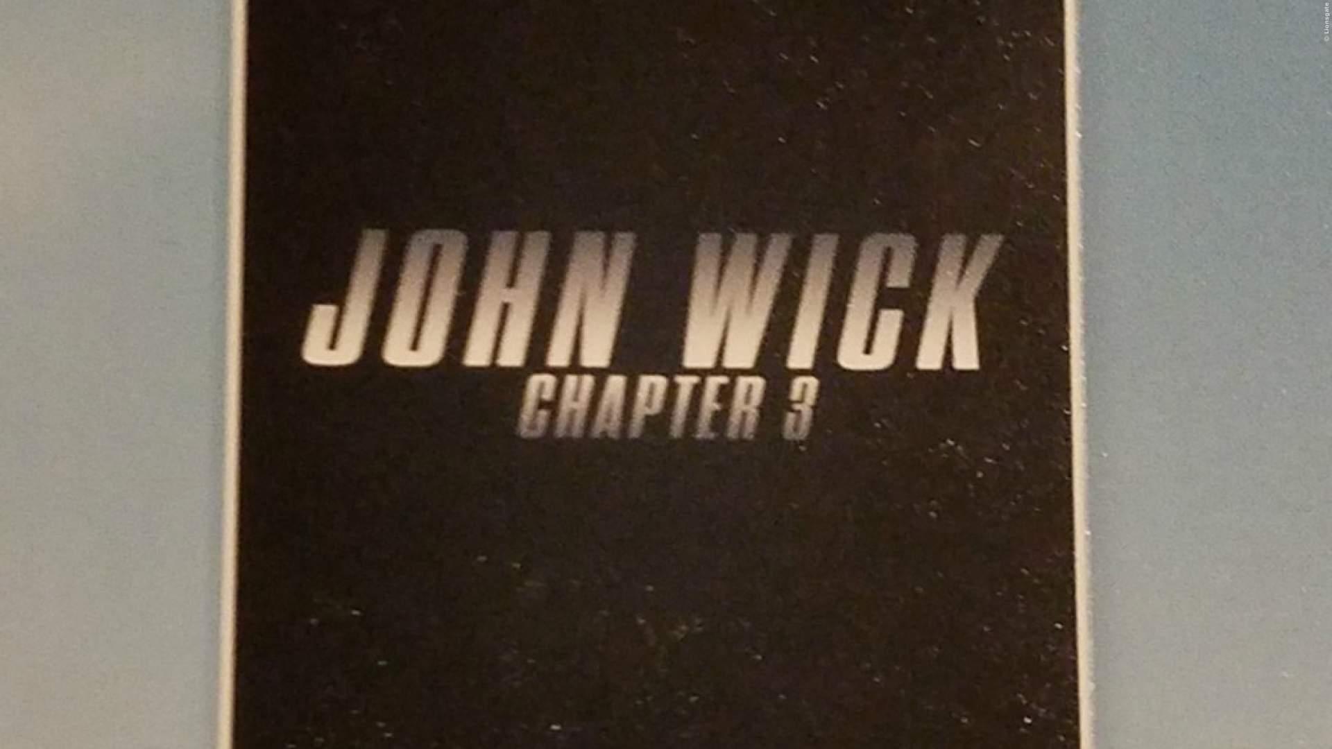 John Wick 3: Details zur Handlung und erstes Bild veröffentlicht - Bild 1 von 1
