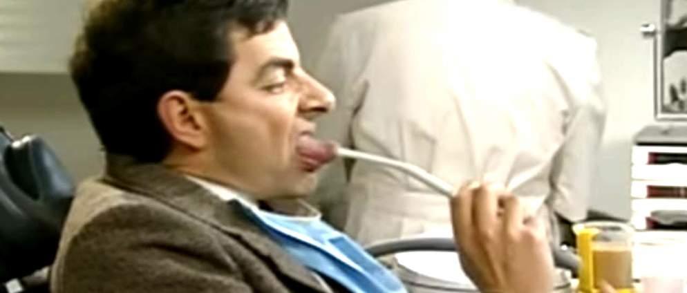 Mr. Bean geht zum Zahnarzt