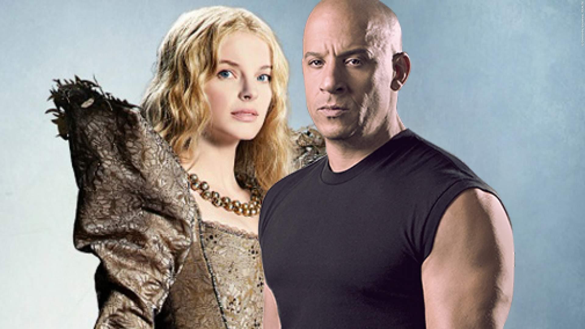 Yvonne Catterfeld und Vin Diesel