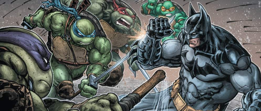Batman-Crossover mit den Turtles
