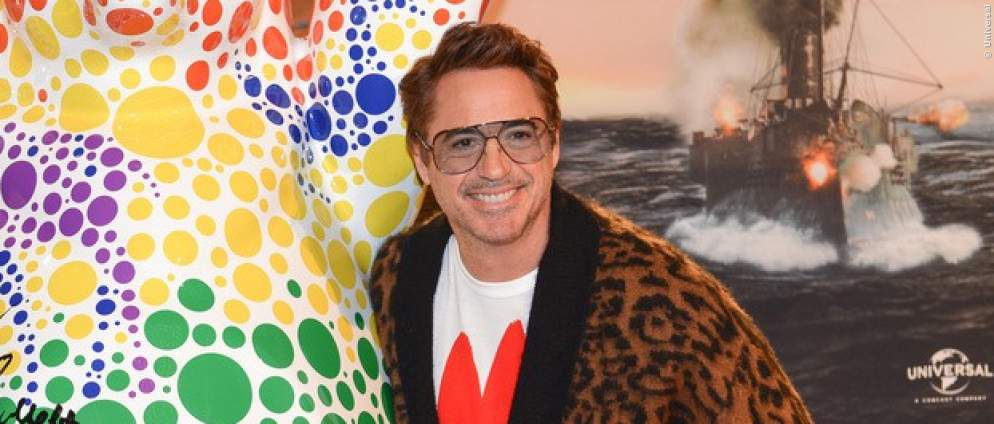 Robert Downey Jr. zu Gast in Berlin