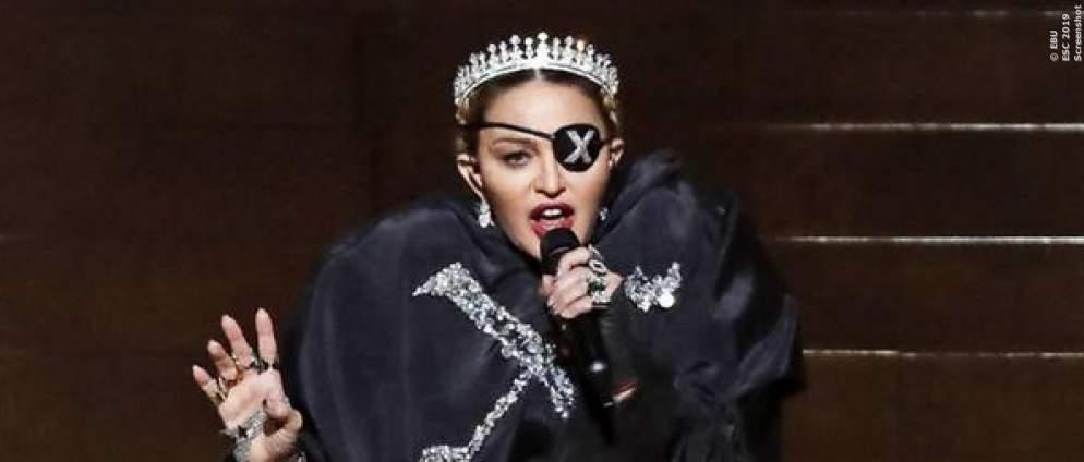 Madonna postet ESC-Auftritt und singt gut