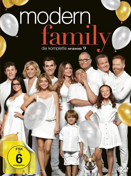 Modern Family S9 Cover