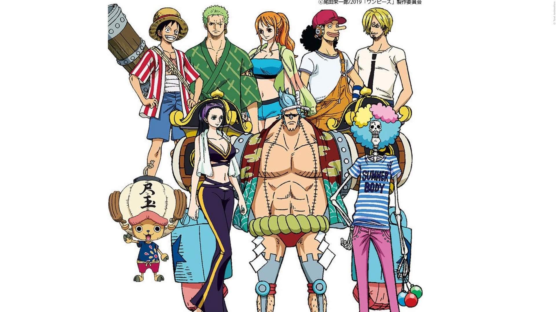 One Piece Stampede: Bilder zeigen neue Helden-Designs - Bild 1 von 10