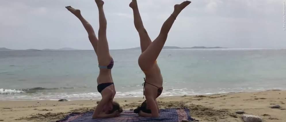 Yoga Fails im Video