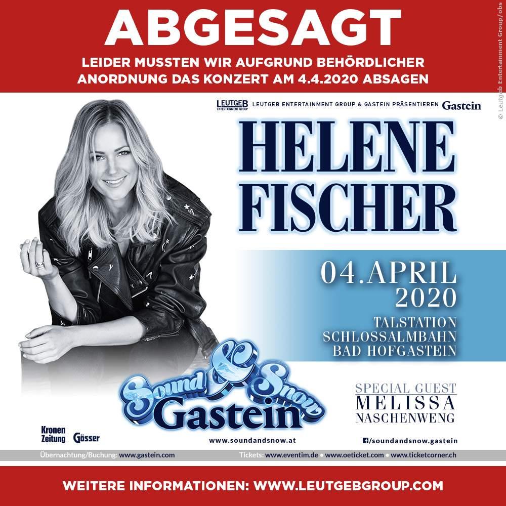 Helene Fischer: Die Absage