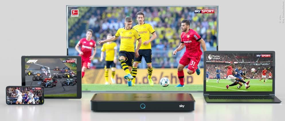 Sky: Bundesliga kommt mit neuen Funktionen zurück
