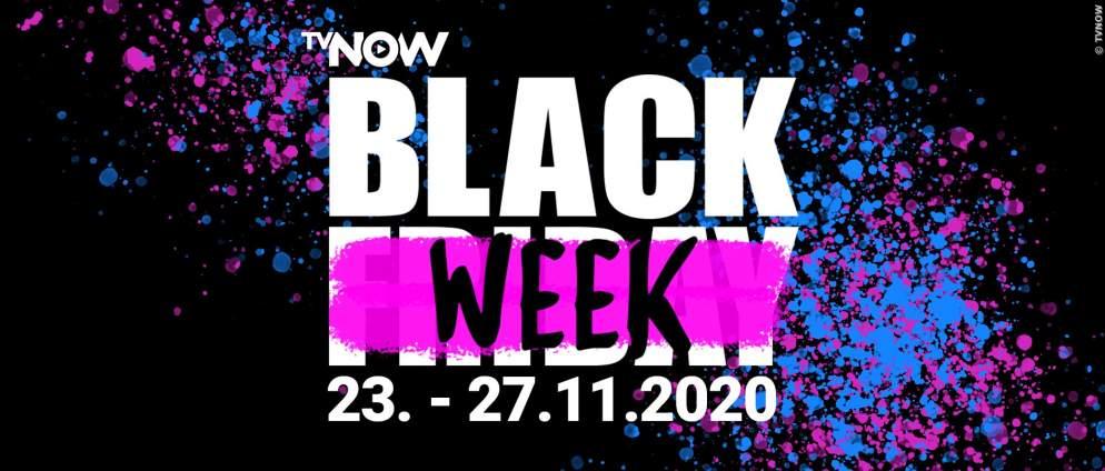 TVNOW Black Week: Streaming für alle