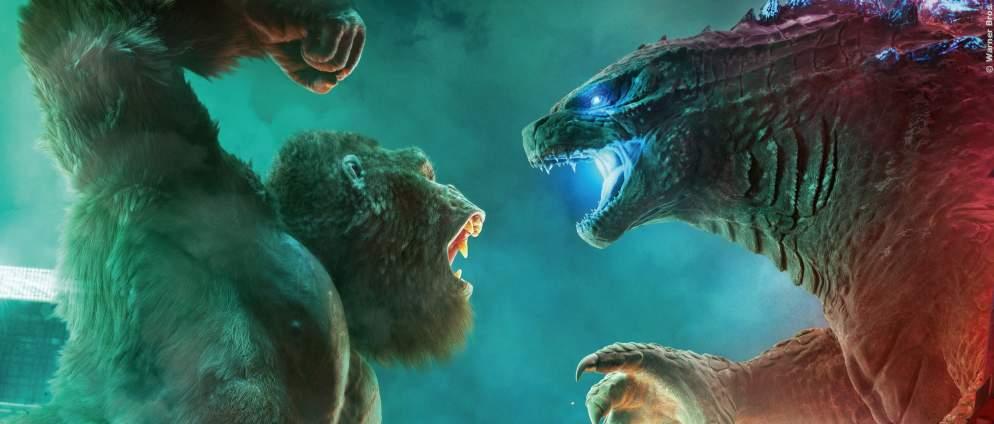 """""""Godzilla vs. Kong"""" schon nächste Woche bei Sky"""