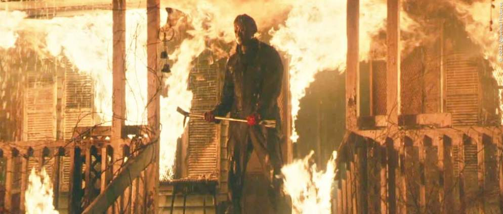 "2ter Trailer zu ""Halloween Kills"" fackelt alles ab"