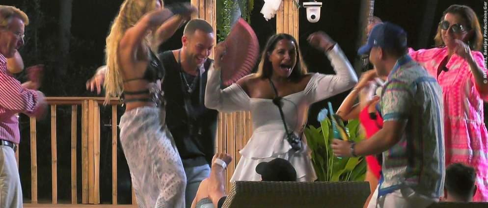 Party in der Sala in Kampf der Realitystars Staffel 2