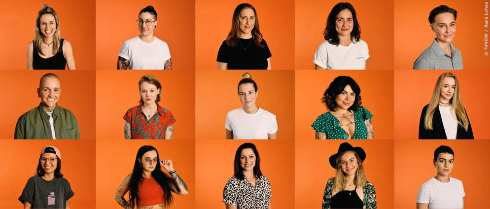 Diese 20 lesbischen Frauen suchen die Liebe