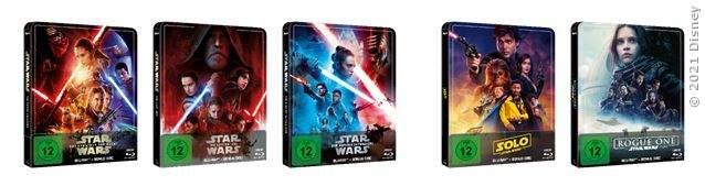 Star Wars Steelbooks - zweite Welle