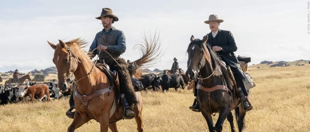 Benedict Cumberbatch & Kirsten Dunst bei Netflix